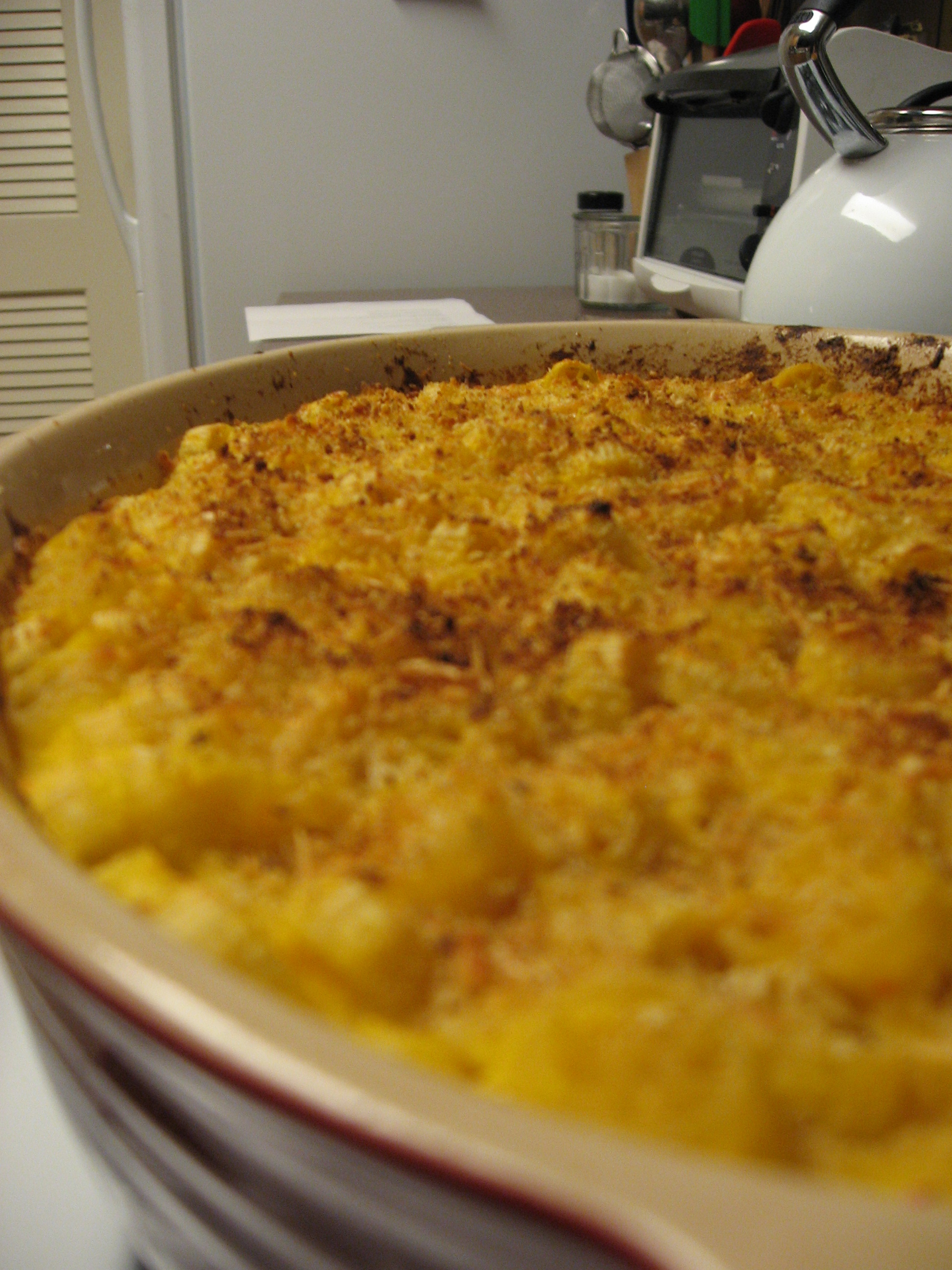 Mac and Squash and Cheese
