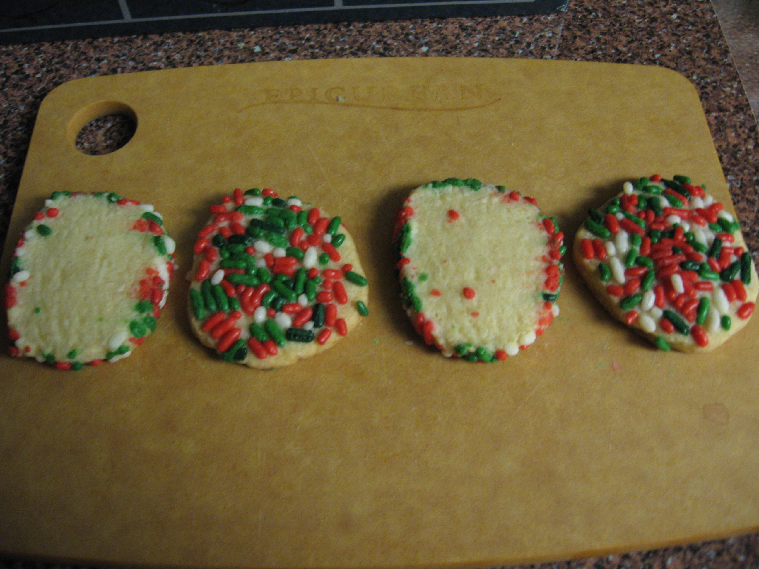 Sugar Cookies, Two Ways