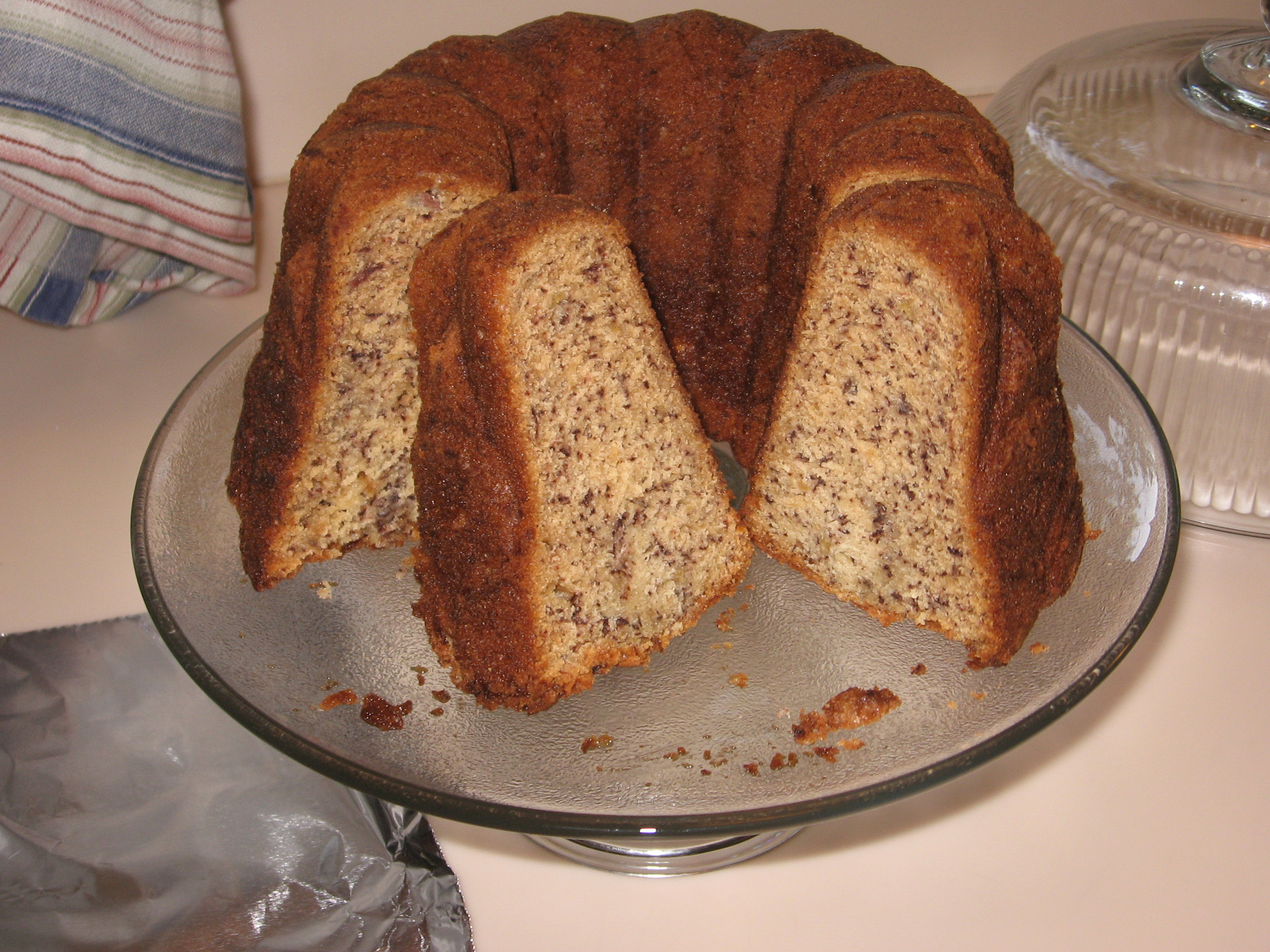 Banana Bundt