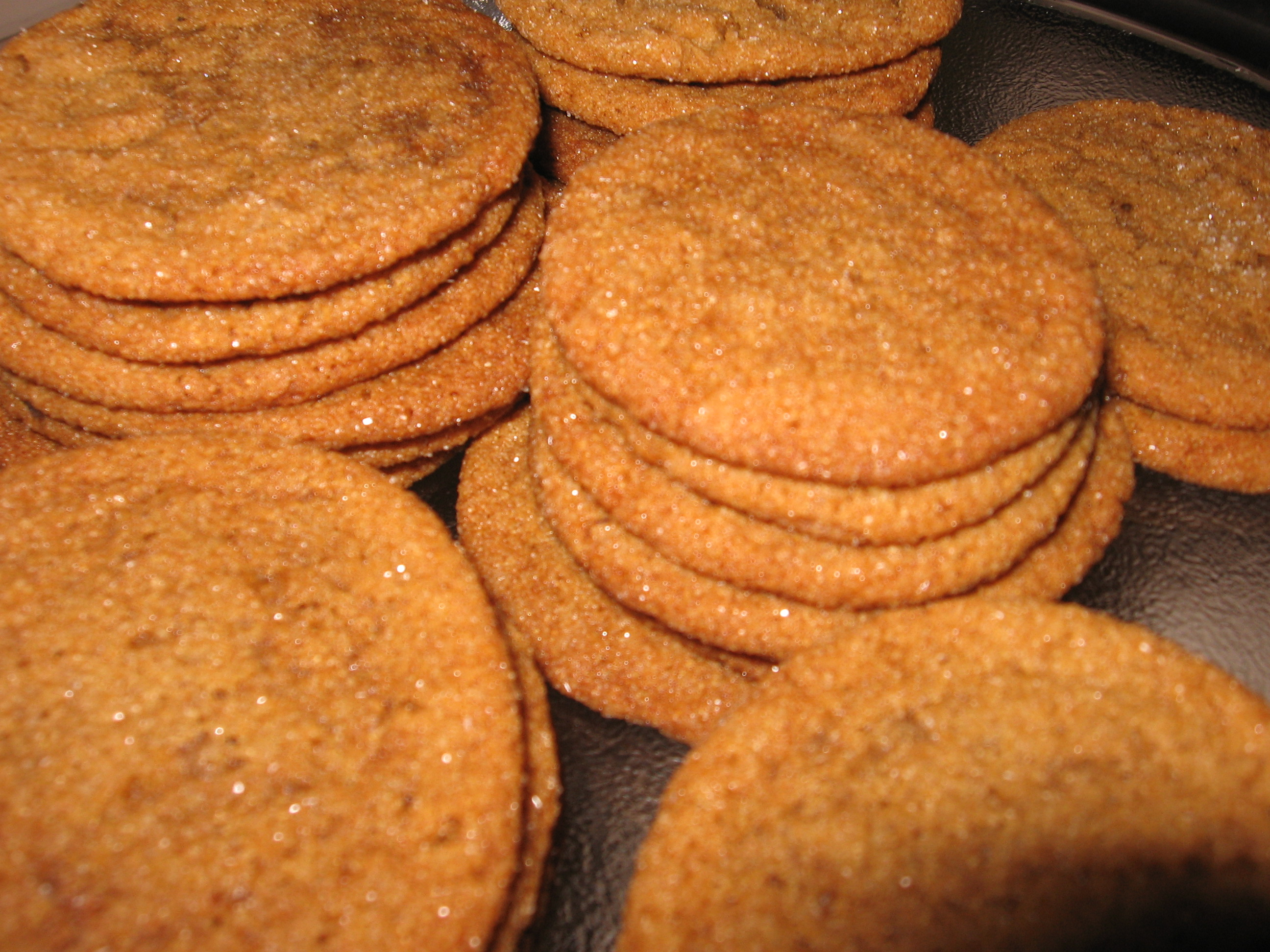 Spiced Ginger Molasses Cookies